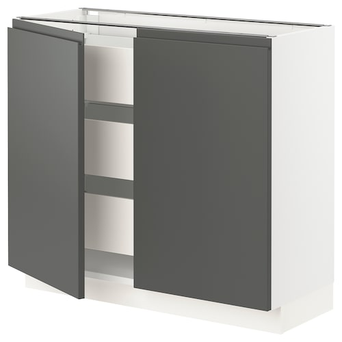 IKEA SEKTION Base cabinet w/2 doors & 3 drawers