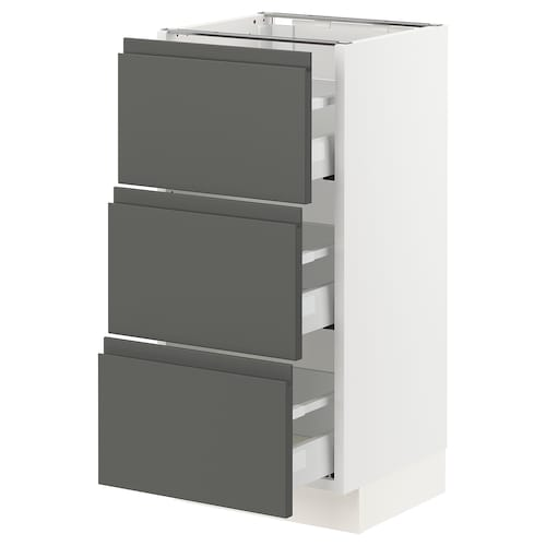 IKEA SEKTION Base cabinet with 3 drawers