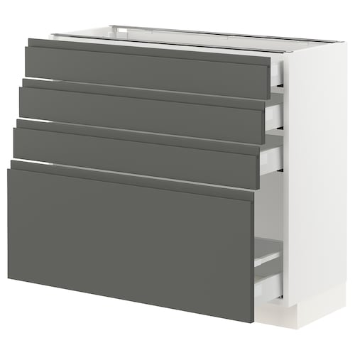 IKEA SEKTION Base cabinet with 4 drawers