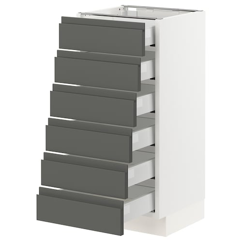 IKEA SEKTION Base cabinet/6 fronts/6 low drawers