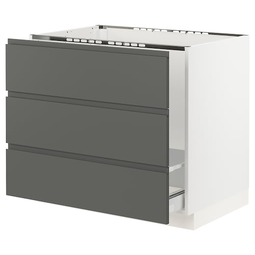 IKEA SEKTION Base cabinet f/sink & waste sorting
