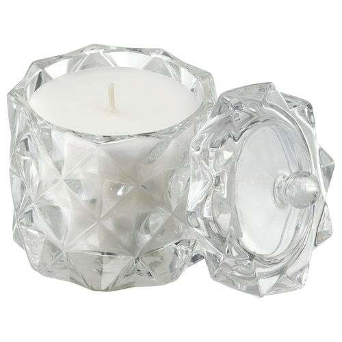 IKEA VINTERFEST Scented candle in glass