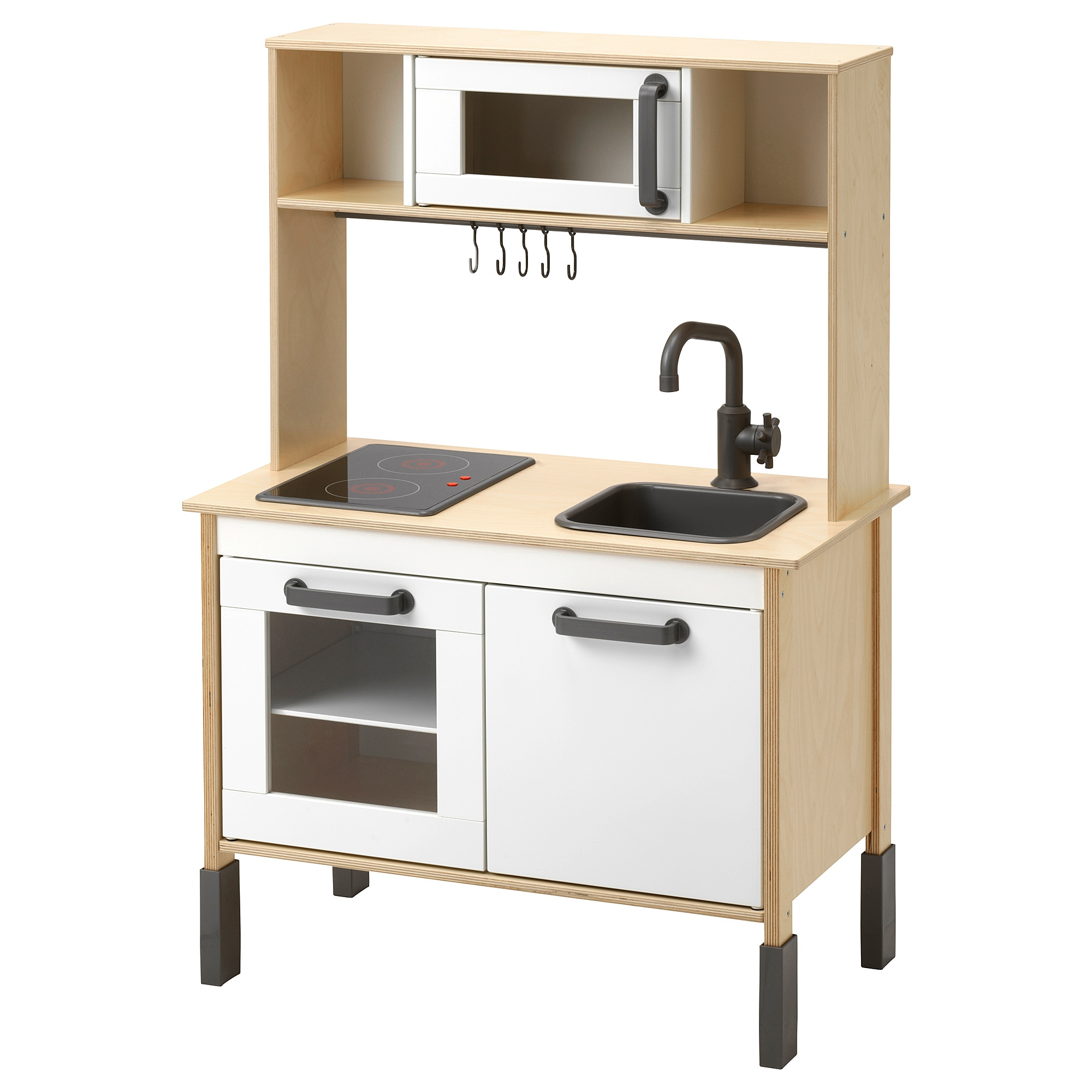 DUKTIG Play kitchen, birch