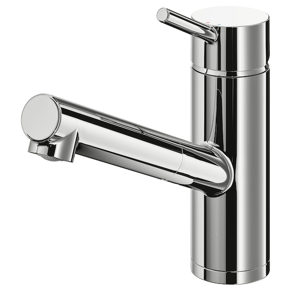 Kitchen Mixer Tap W Pull Out Spout Yttran Chrome Plated