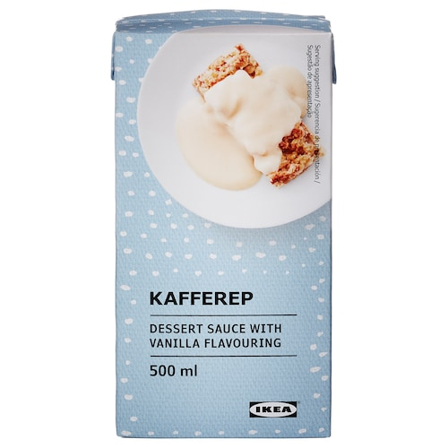 KAFFEREP salsa de vainilla 500 ml