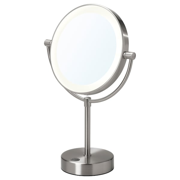 Mirror With Integrated Lighting Kaitum Battery Operated