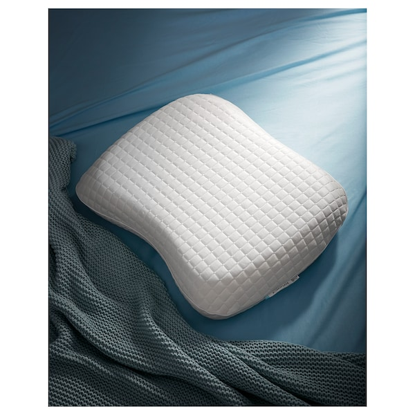 Cuscino Memory Foam Ikea.Ergonomic Pillow Multi Position Klubbsporre