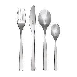 FÖRNUFT 24-piece cutlery set, stainless steel