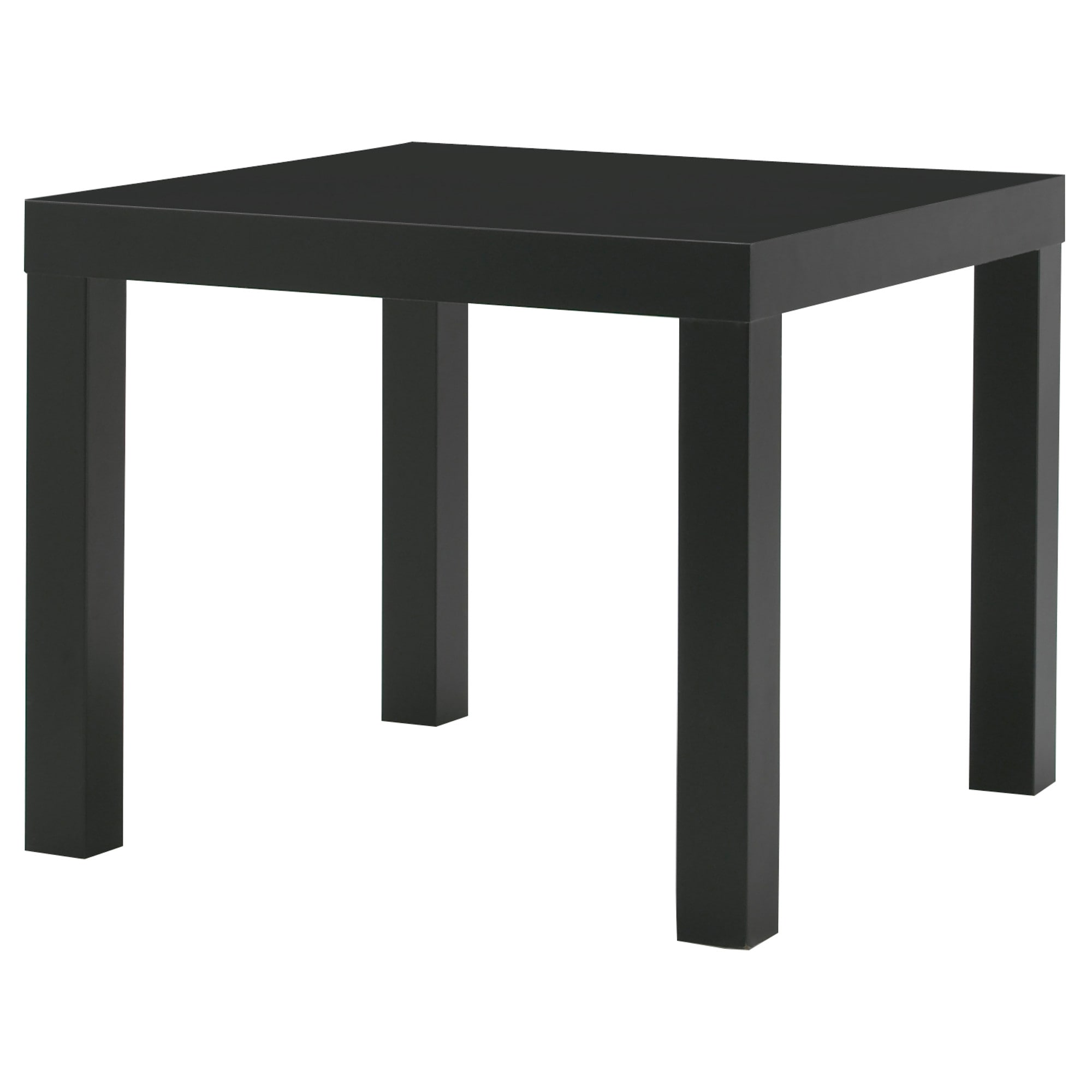 lack side table black 22x22 ikea - End Tables Ikea