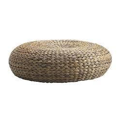 ALSEDA stool, banana fibre Seat diameter: 60 cm Seat height: 18 cm Height: 18 cm