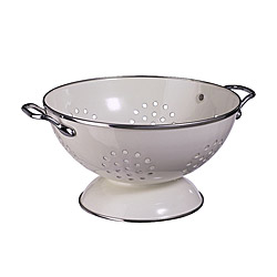 GEMAK colander, off-white Diameter: 22 cm Height: 13 cm
