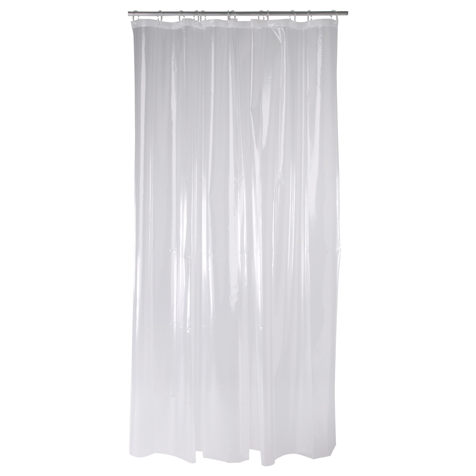 shower curtains rods ikea nAckten shower curtain clear length 71