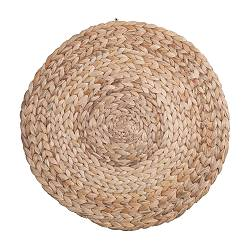 SOARÉ place mat, water hyacinth Diameter: 37 cm