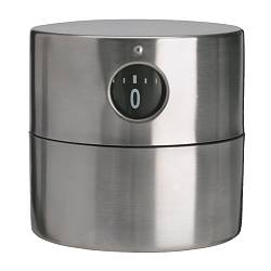ORDNING timer, stainless steel Diameter: 6 cm Height: 6 cm