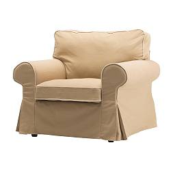 EKTORP chair cover, Idemo beige