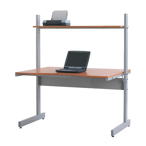 Countertop Height Desk : want a BIG desk - thinking about a countertop