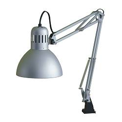TERTIAL work lamp, silver-colour Shade diameter: 17 cm Cord length: 1.6 m