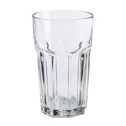 "POKAL Glass  Height: 6 "" Volume: 12 oz  Height: 14 cm Volume: 35 cl"