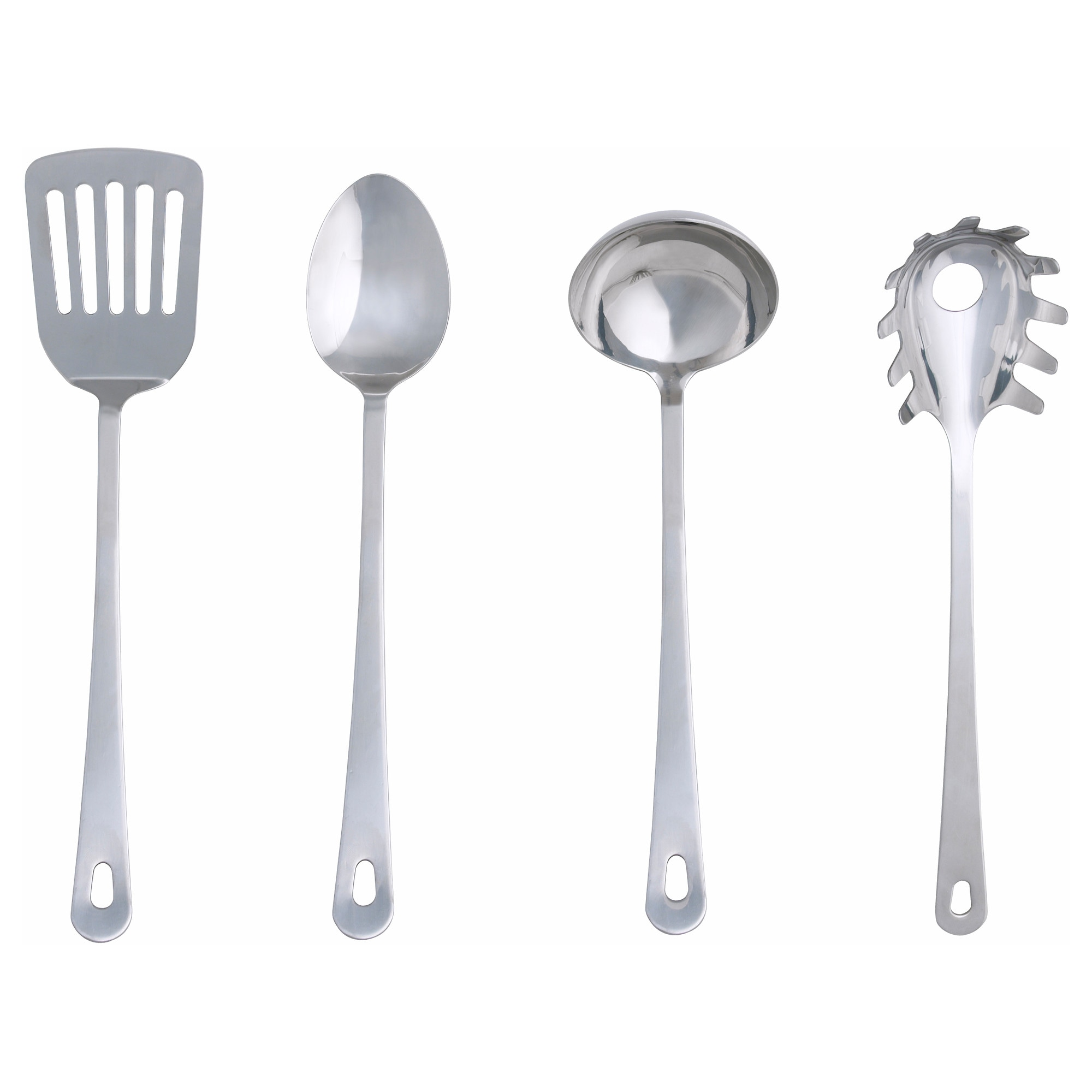 GRUNKA 4-piece kitchen utensil set - IKEA