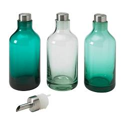 LIMMAREN bottle, assorted colours Diameter: 7 cm Height: 15 cm Package quantity: 3 pack