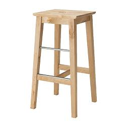 BOSSE, Bar stool, birch