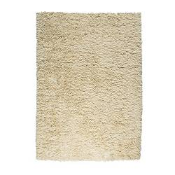 "VITTEN rug, high pile, white Length: 6 ' 7 "" Width: 4 ' 7 "" Surface density: 11 oz/sq ft Length: 200 cm Width: 140 cm Surface density: 3300 g/m²"