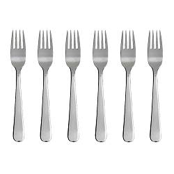 "DRAGON salad/dessert fork, stainless steel Length: 6 "" Package quantity: 6 pack Length: 16 cm Package quantity: 6 pack"