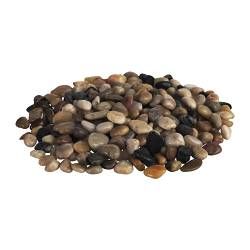 KNASTER decoration, stones, assorted colours, small Total weight: 1 kg