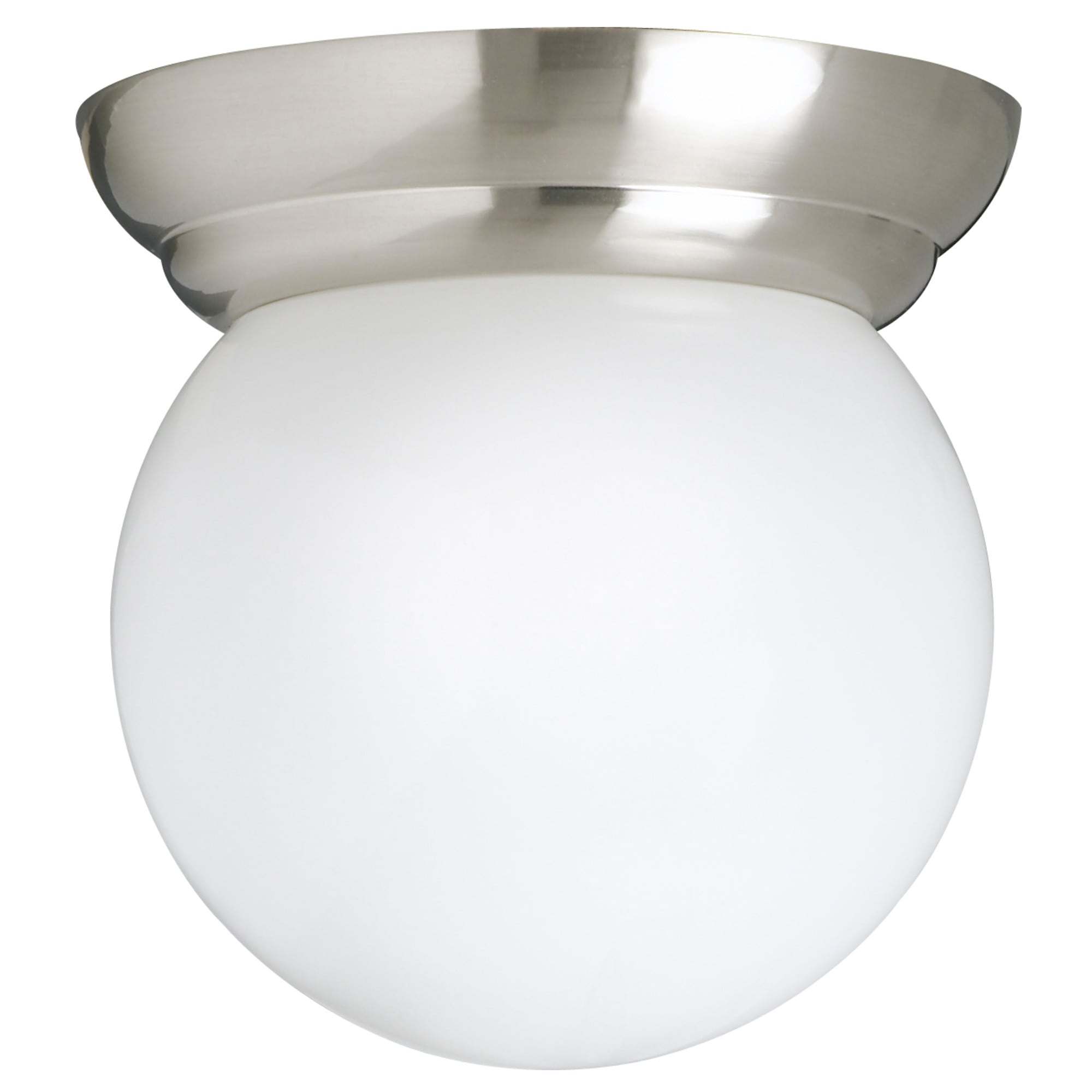 LILLHOLMEN Ceiling/wall Lamp, Nickel Plated, White Max.: 60 W Height