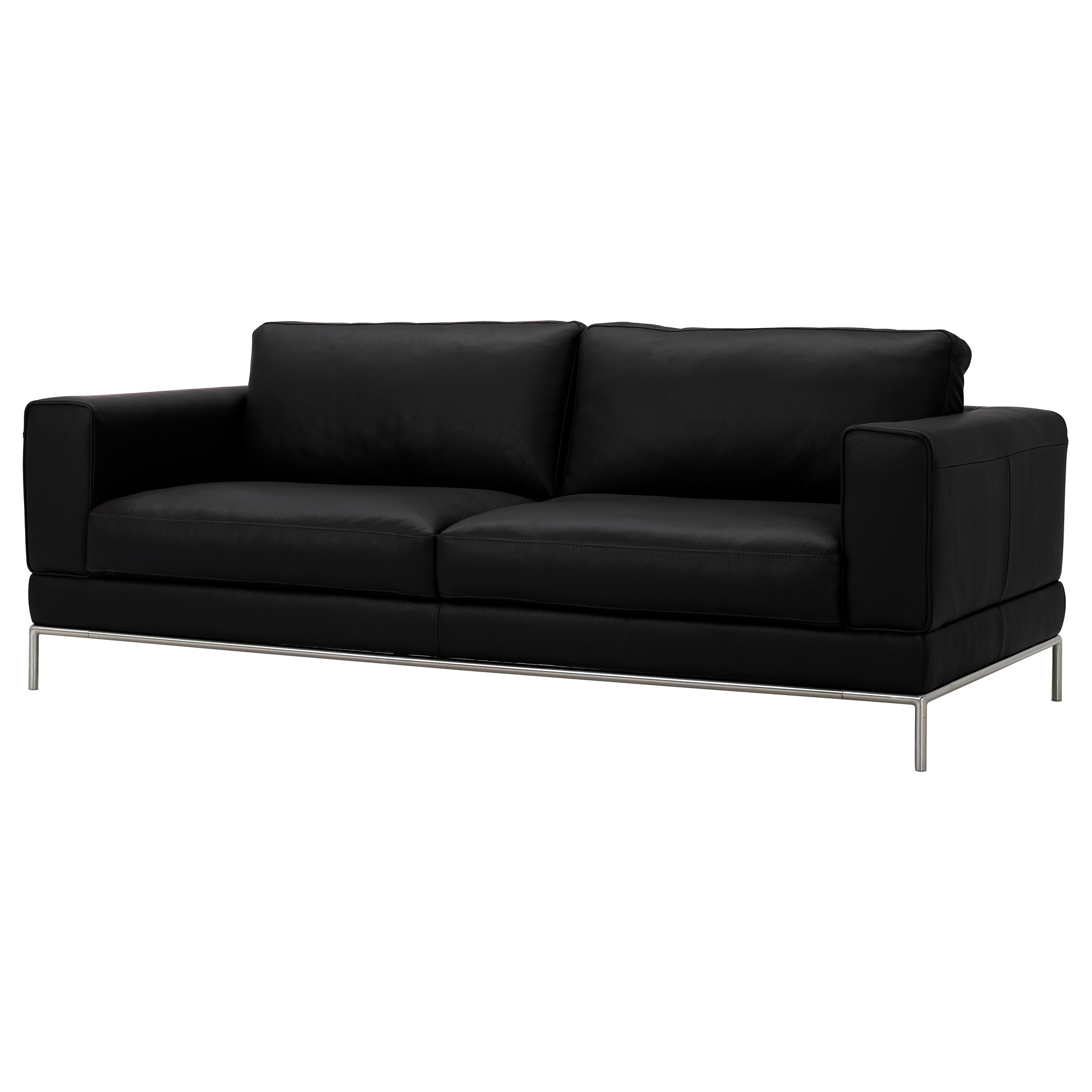 ikea arild sofa ikea arild brown leather sofa in. Black Bedroom Furniture Sets. Home Design Ideas