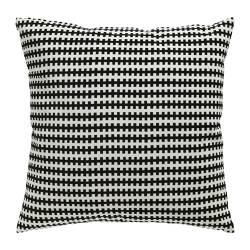 STOCKHOLM cushion, black/white
