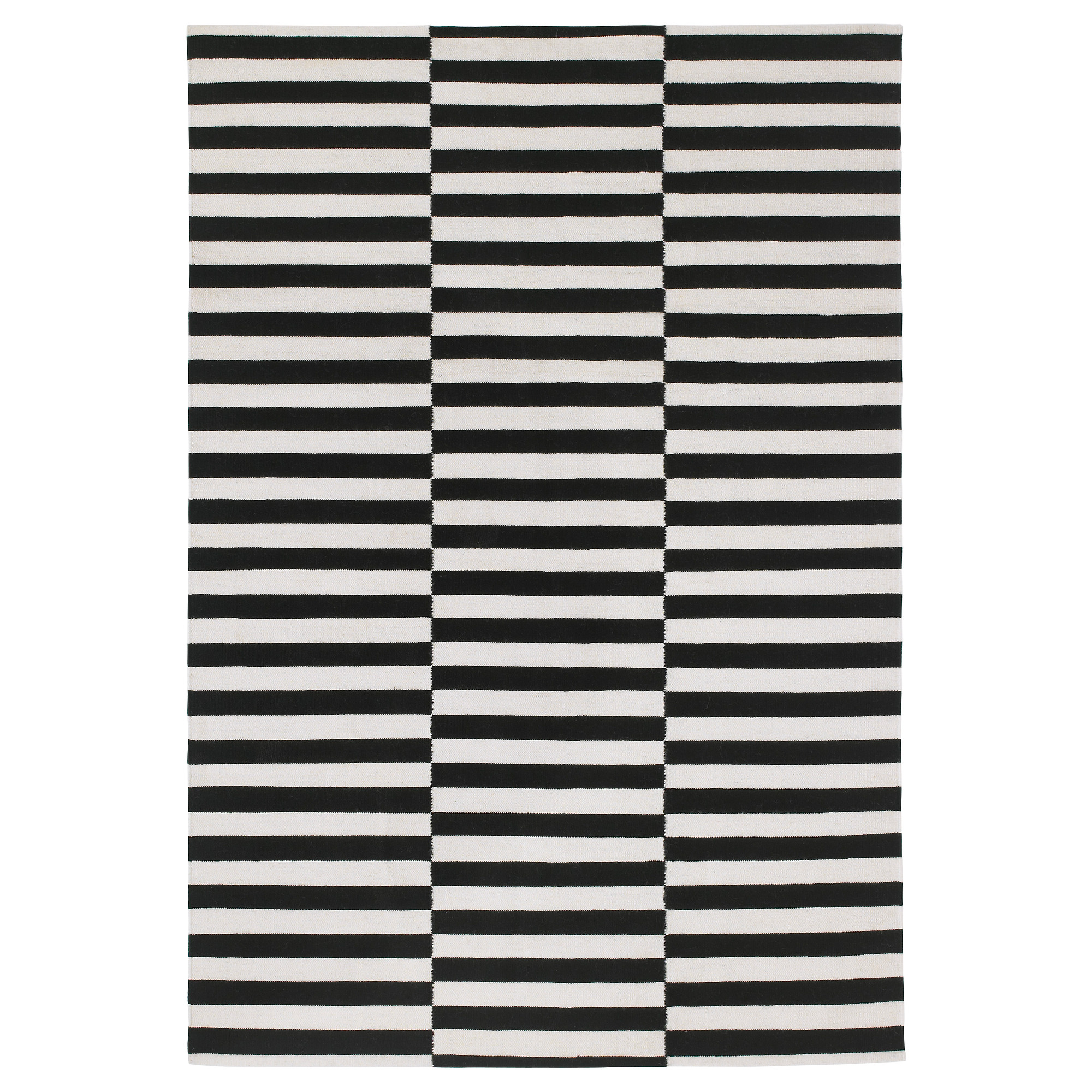 excellent wonderful ikea black striped rand rug ikeas stockholm white and designs ideas decoration