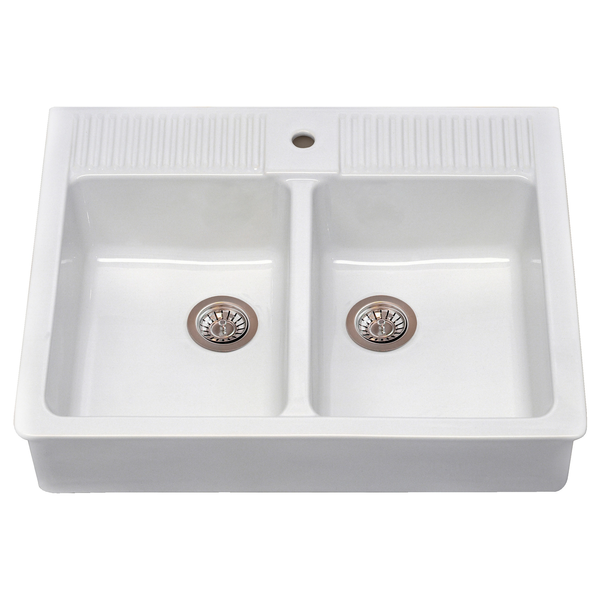 White apron front sink canada