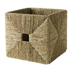 KNIPSA basket, seagrass