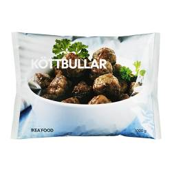 KÖTTBULLAR meatballs, frozen Net weight: 2.20 lb Net weight: 1000 g