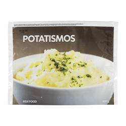 POTATISMOS mashed potatoes, frozen Net weight: 400 g