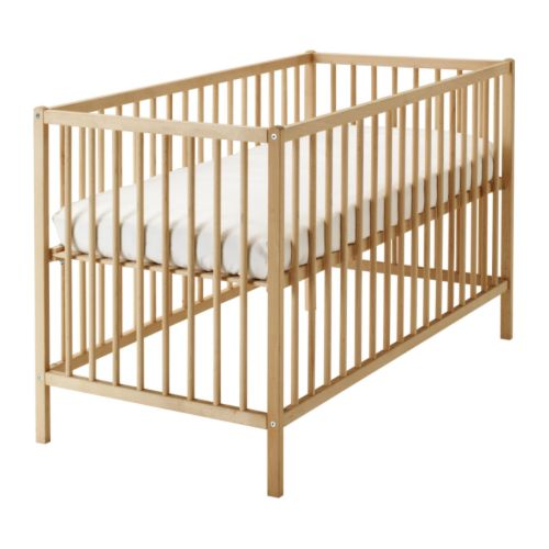 IKEA SNIGLAR BABY COTBED COT BED NURSERY FURNITURE NEW