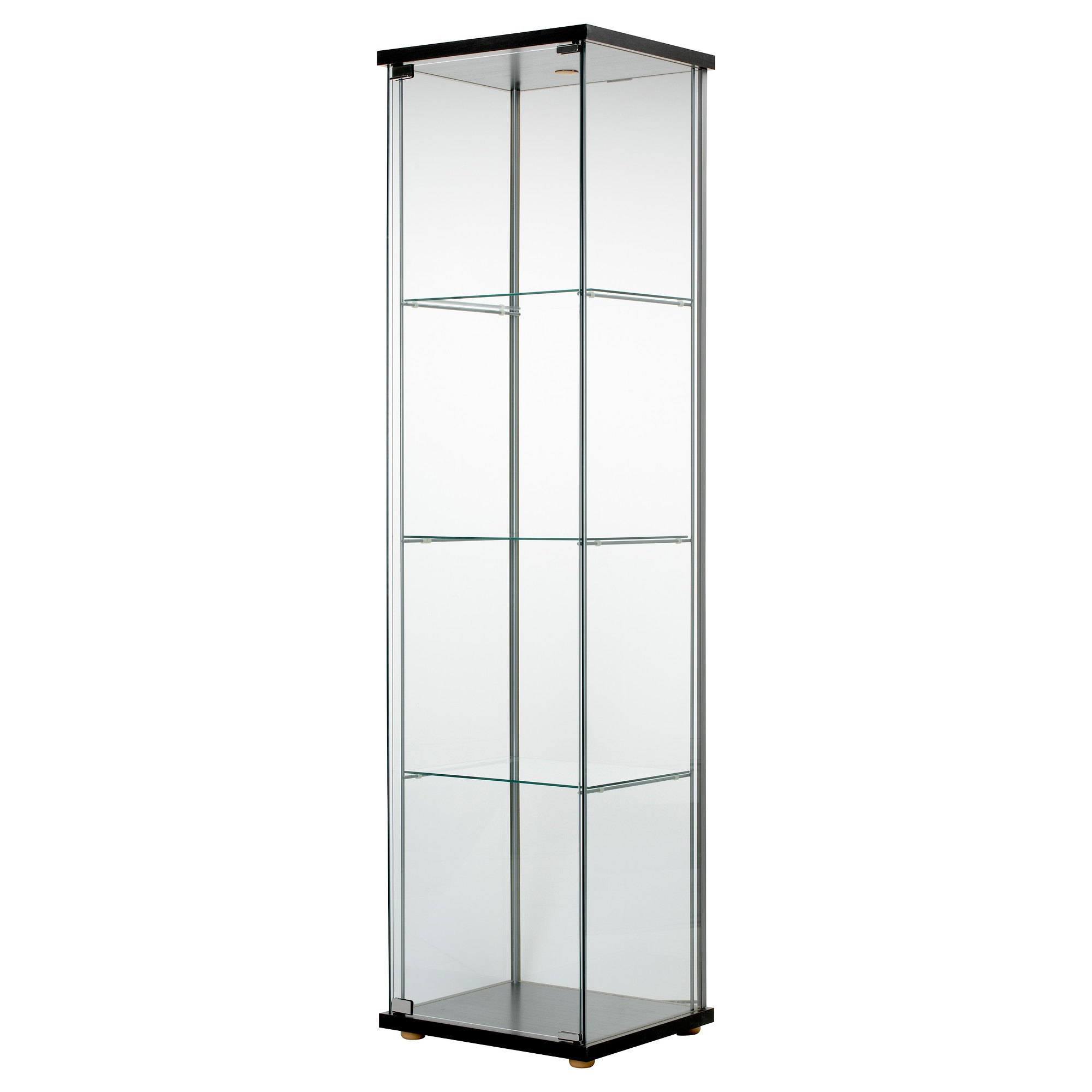door ikea curio full roll display glassdoor cabinets cabinet klingsbo locks sektion lighted case size sizes gray glass of front shelves