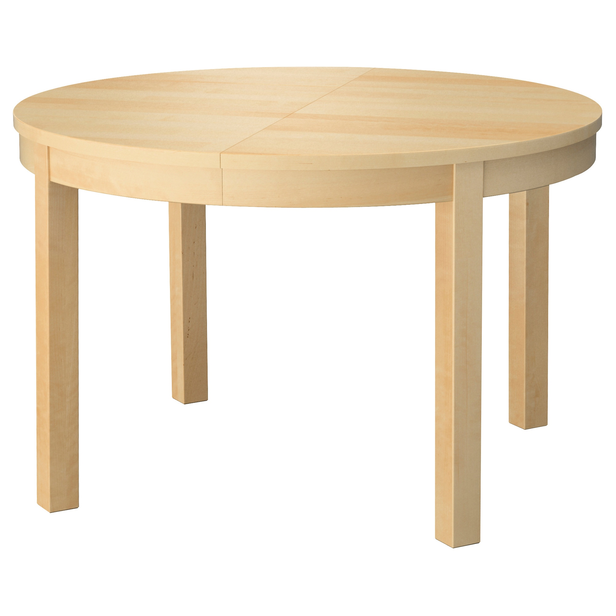 Table ronde ikea for Table ronde noire avec rallonge