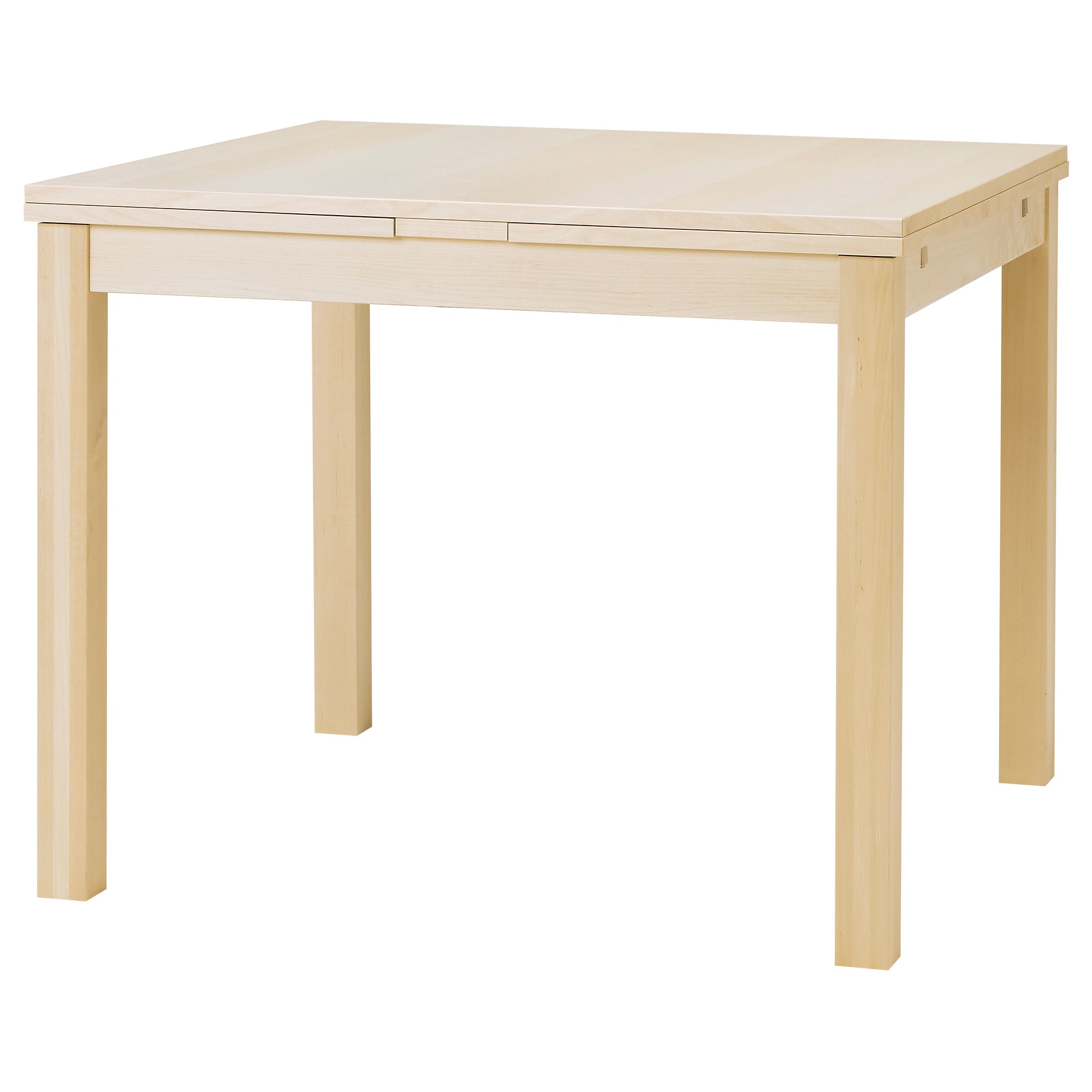 Ikea Folding Dining Table bjursta extendable table - birch veneer - ikea