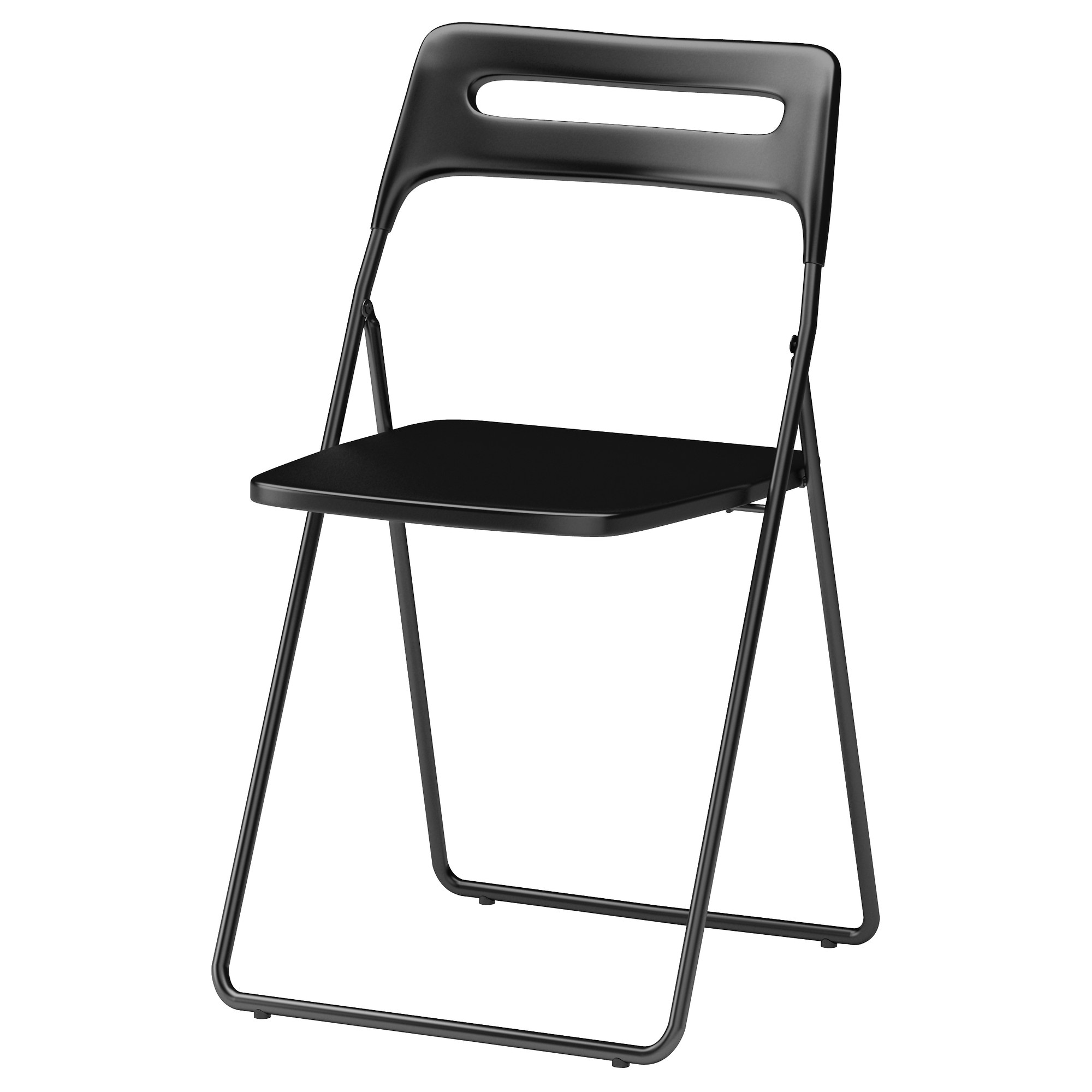 black furniture ikea. nisse folding chair black tested for 220 lb width 17 34 furniture ikea s