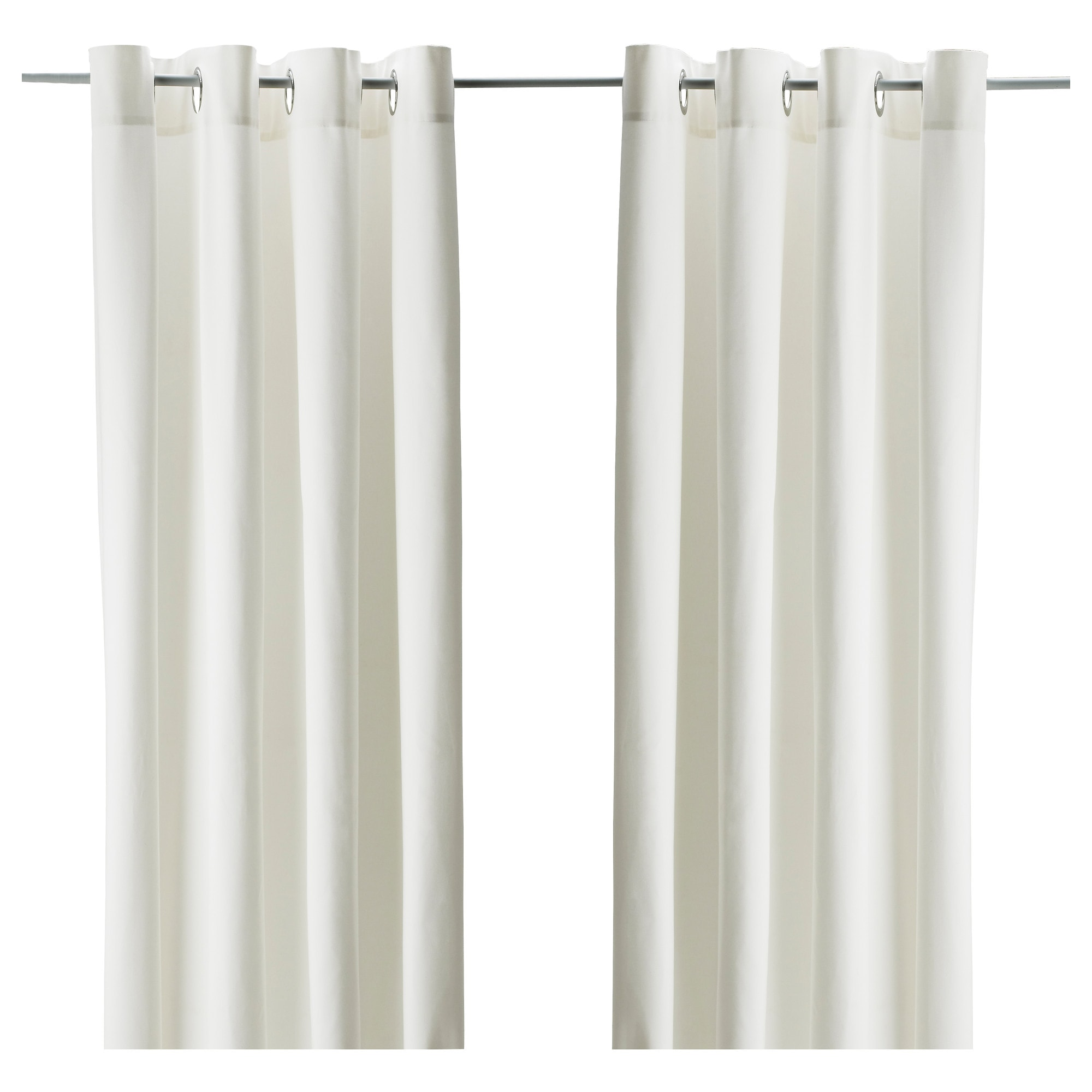 White curtain panels - White Curtain Panels 8