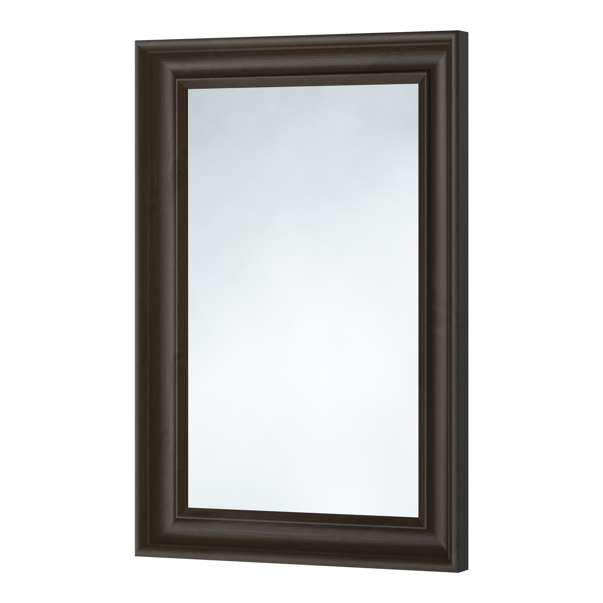 hemnes mirror black brown ikea - Mirror With Black Frame