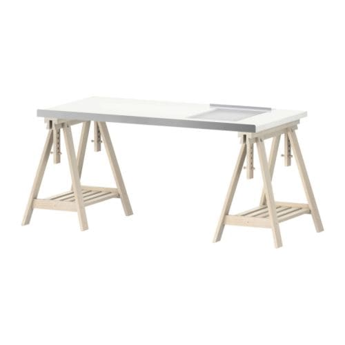 Finalmente il mio studio for Ikea drawing desk