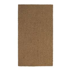 "SINDAL door mat, natural Length: 2 ' 7 "" Width: 1 ' 8 "" Surface density: 8 oz/sq ft Length: 80 cm Width: 50 cm Surface density: 2375 g/m²"