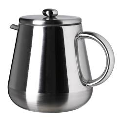 ANRIK coffee/tea maker, stainless steel Height: 18.5 cm Volume: 1.2 l