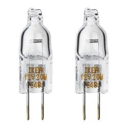 HALOGEN bulb G4 standard Power: 20 W Package quantity: 2 pack Voltage: 12 V