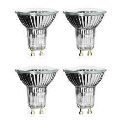 HALOGEN bulb GU10 Power: 35 W Package quantity: 4 pack Voltage: 230 V