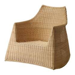 Rattan wicker furniture from ikea chairs stools for Chaise rocking chair ikea