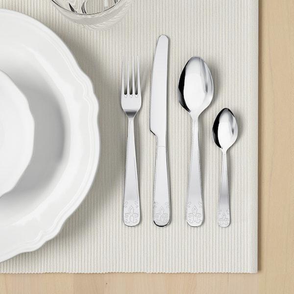ÄTBART طقم أدوات تناول الطعام 24 قطعة., ستينلس ستيل